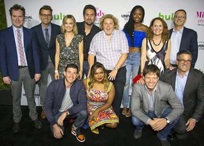 Photo of The Mindy Project cast including Fortune Feimster.